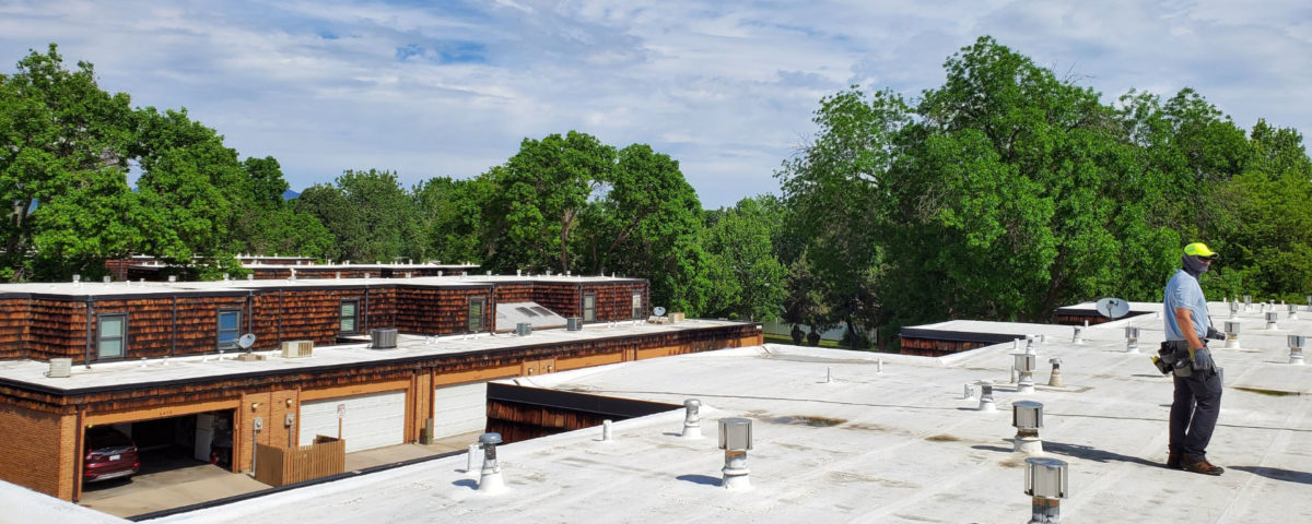 Commercial roof maintenance Kapella Roofing2