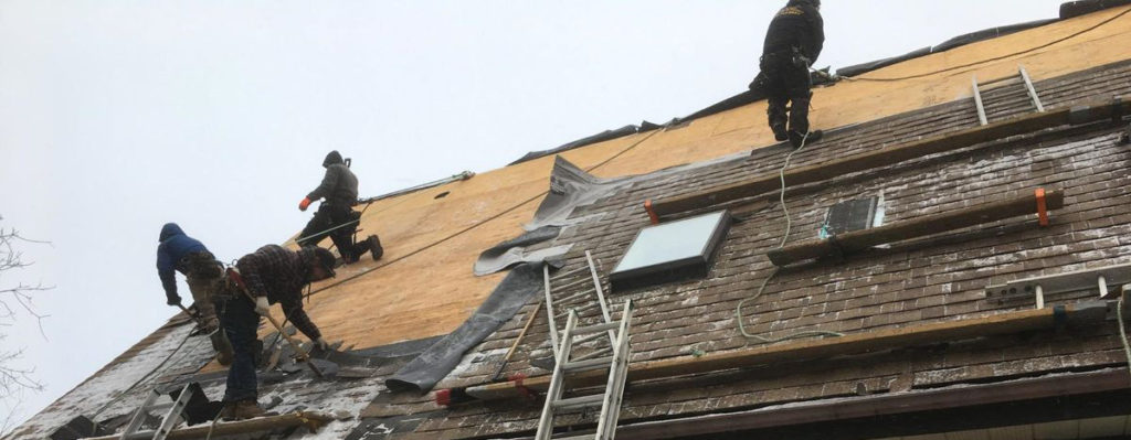 winter roofing