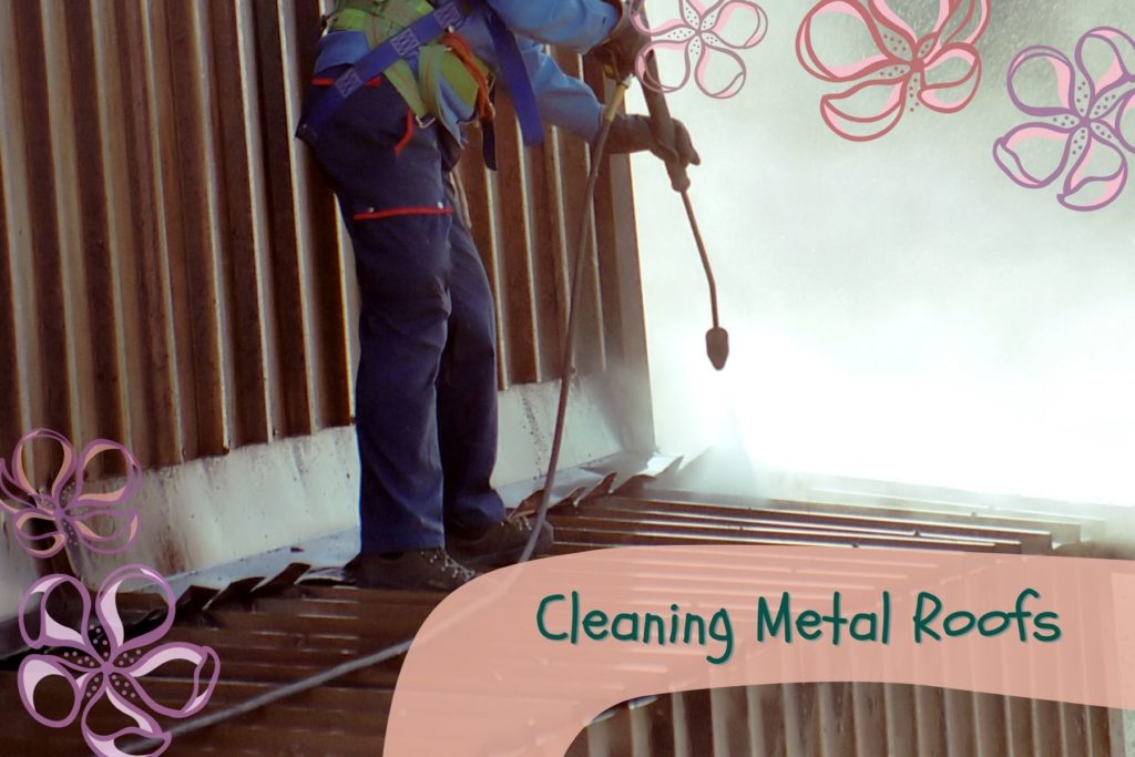 Cleaning Metal Roofs